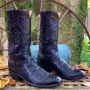 LUCCHESE Classic Handmade L1515 Goat Cowboy Boot 9